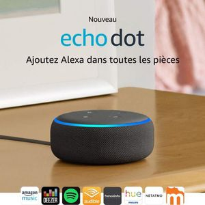 STATION MÉTÉO Echo DOT 3eme Generation + Support adaptable + Pri