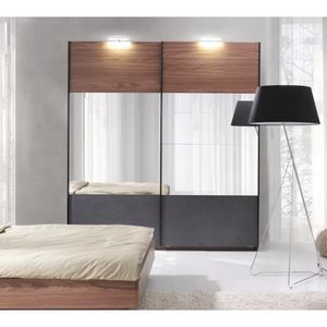 dressing porte coulissante achat vente dressing porte. Black Bedroom Furniture Sets. Home Design Ideas
