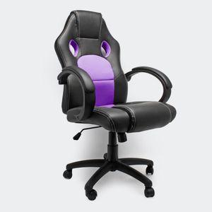 pourpre Chaise violet siège PU bureau de bureau de en uZTlXkiwOP