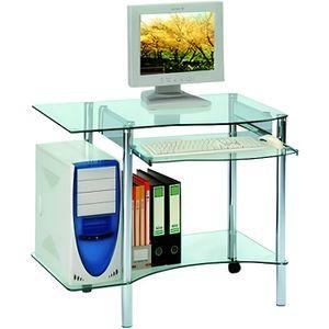 BUREAU  Bureau informatique Métal/Verre - CIP - Transparen
