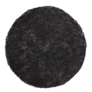 tapis rond 160 cm achat vente tapis rond 160 cm pas cher cdiscount. Black Bedroom Furniture Sets. Home Design Ideas