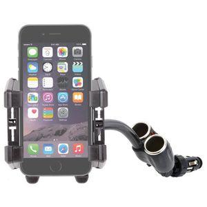 CHARGEUR TÉLÉPHONE Fixation - chargeur double pour iPhone 7 et 7 Plus