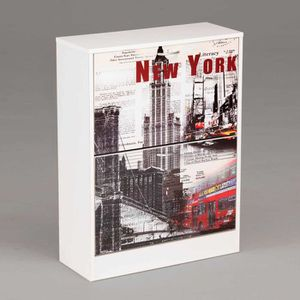 Meuble a chaussures new york achat vente meuble a for Meuble new york