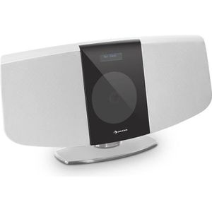 RADIO CD CASSETTE auna WhiteMask Chaîne HiFi stéréo verticale avec l