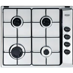 CUISINIÈRE - PIANO Cuisinière à gaz 4feux largeur 60cm couleur inox