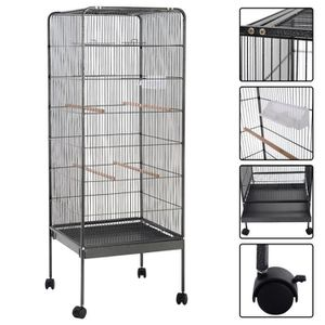 cages oiseaux. Black Bedroom Furniture Sets. Home Design Ideas