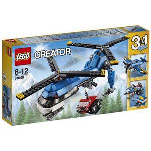 ASSEMBLAGE CONSTRUCTION LEGO® Creator 31049 L'Hélicoptère à Double Rotor