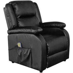 FAUTEUIL Fauteuil électrique de massage en Cuir artificiel