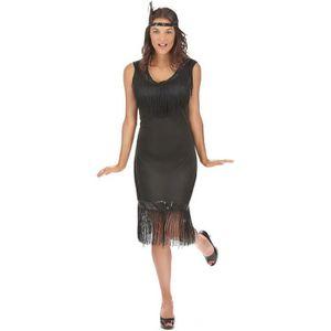 DÉGUISEMENT - PANOPLIE Déguisement robe Charleston noire femme - 79823
