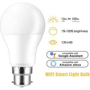 AMPOULE - LED Ampoule Connectée LED B22 WiFi Intelligente Smart
