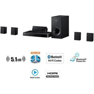 Ensemble home cinéma SAMSUNG HT-J4500 Home-cinéma 5.1 500W Blu-ray 3D