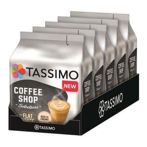 CAFÉ TASSIMO Coffee Shop Sensations Typ Flat White 5 x