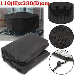 HOUSSE MEUBLE JARDIN  TEMPSA 110x230cm Housse protection jardin meubles