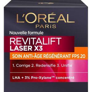 ANTI-ÂGE - ANTI-RIDE L'OREAL PARIS Revitalift Laser - Soin Jour Anti-Ag