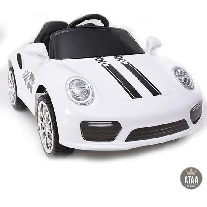 Booster 6v Blanc - Voiture électrique pour enfant avec batterie 6v et télécommande