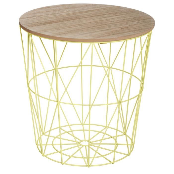 Table basse design moderne - Style scandinave -VERT Anis