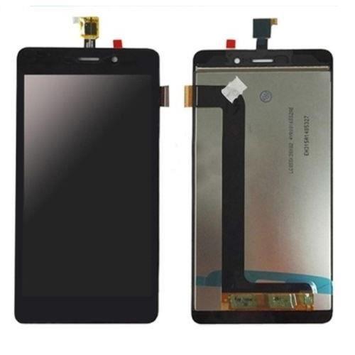 Vitre Tactile Ecran LCD Assemblé de Remplacement pour Wiko Pulp Fab 4G (Noir) avec Outiles