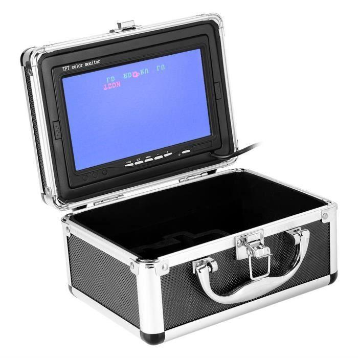 Cen Kit de caméra vidéo de pêche 7 po sous marine couleur Ccd 1000Tvl