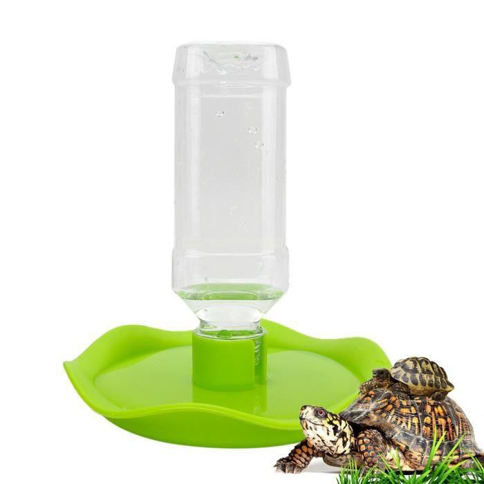 SENZEAL Distributeur d'eau Automatique en ABS - Bol d'eau - Reptile/Animaux de Compagnie - Vert