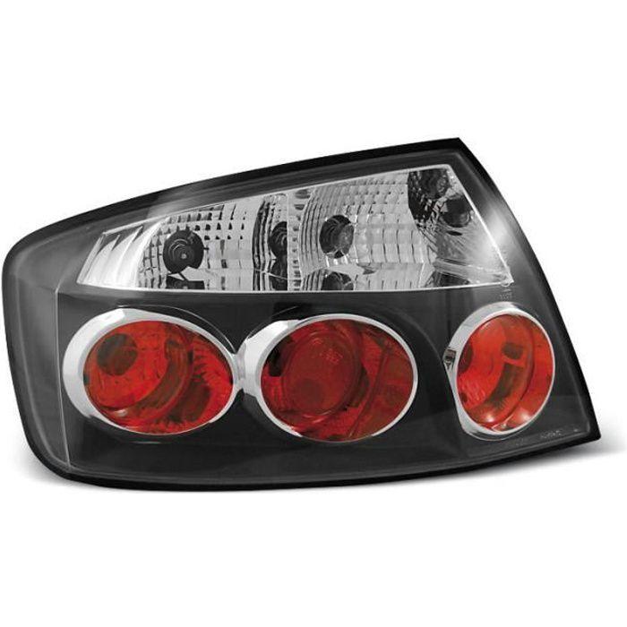 Paire de feux arriere Peugeot 407 berline 04+ noir