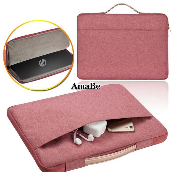 rose gold-EliteBook 1040 G4 i5 -Étui pour pochette d'ordinateur pour ordinateur portable HP Chromebook 11 - 14 - X2 - X360 - Elit