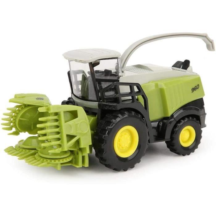 VEHICULE MINIATURE ASSEMBLE ENGIN TERRESTRE MINIATURE ASSEMBLE V&eacutehicule en Alliage agricole pour Enfants 1-42 Mini Mois112