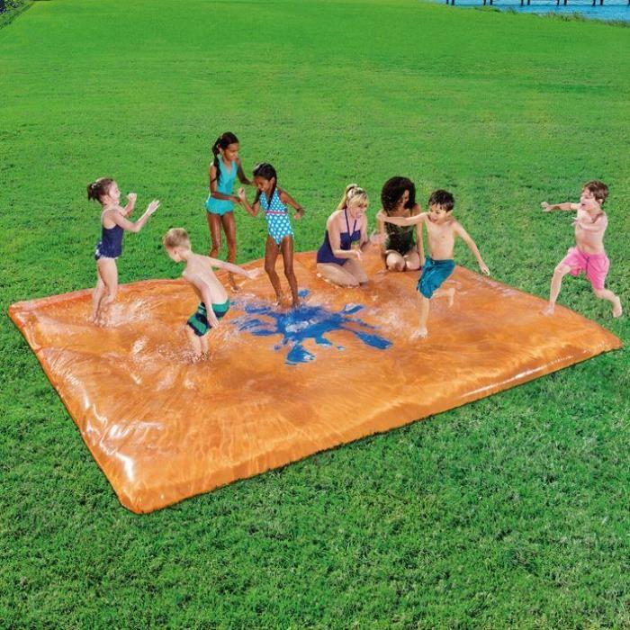 BESTWAY Aire de jeux matelas à eau H2O Go - 400 x 300 cm