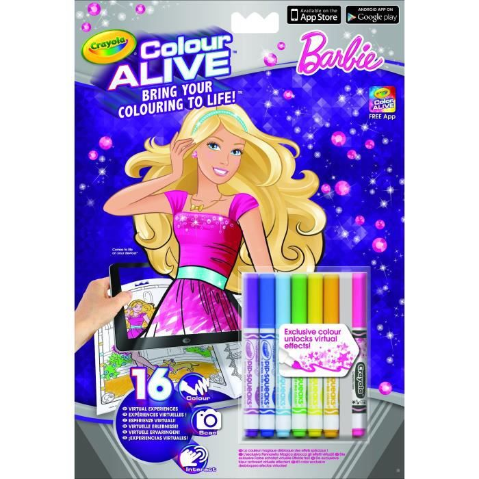 BARBIE Kit Colour Alive Barbie