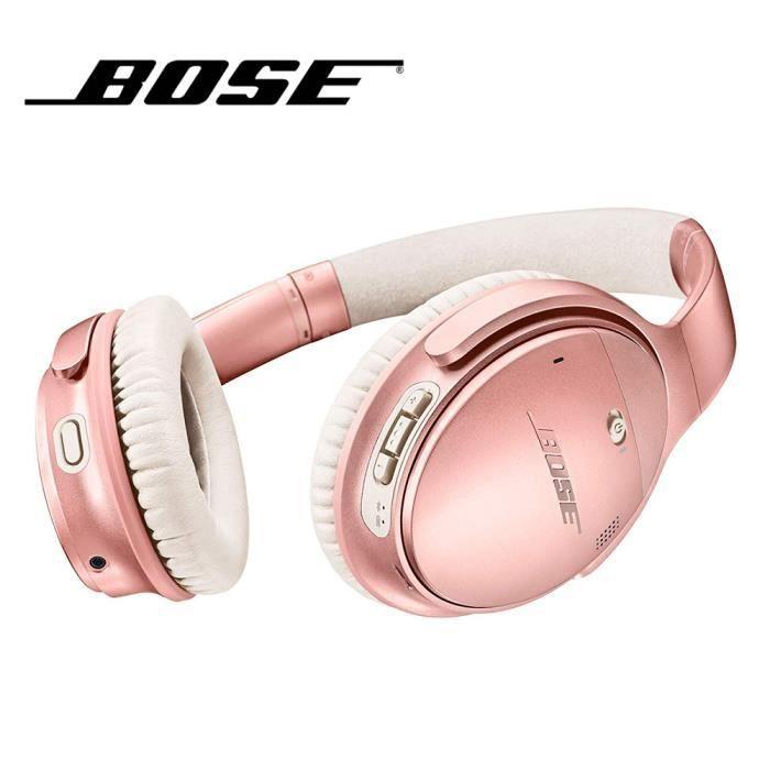 Casque d'écoute Bluetooth sans fil Bluetooth Bose Quietcomfort 35 Ii Anc sur les casques d'écoute basse Casque avec atténuati 1_Regi
