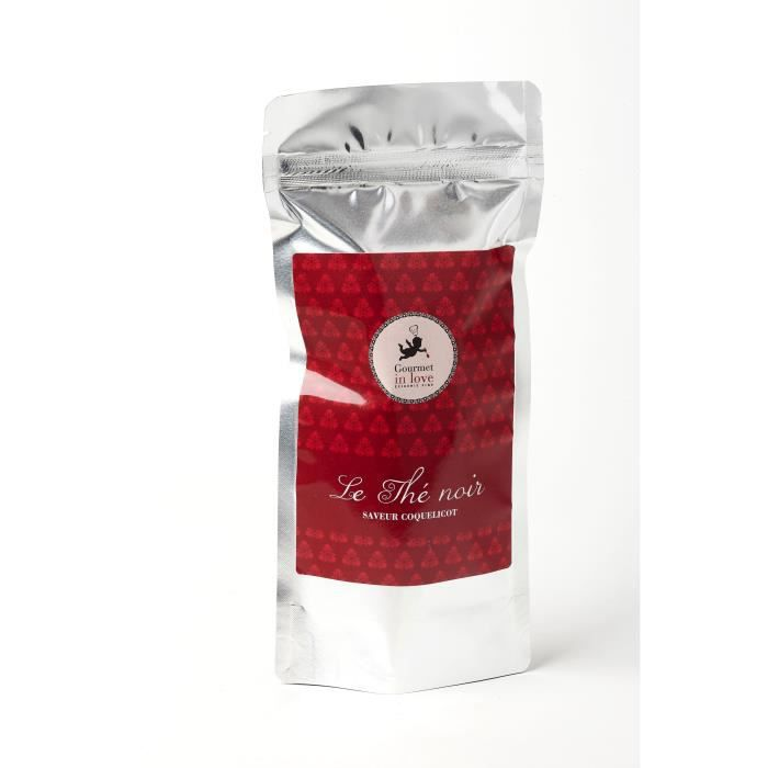 GOURMET IN LOVE Thé Saveur Coquelicot Zip Pack - 75 g