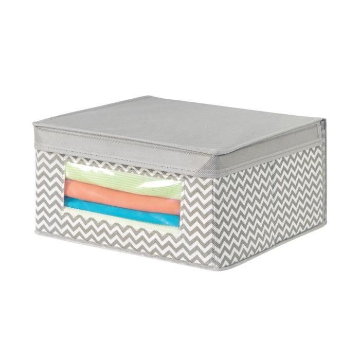 Cube de rangement 29x29cm chevron arrow - InterDesign