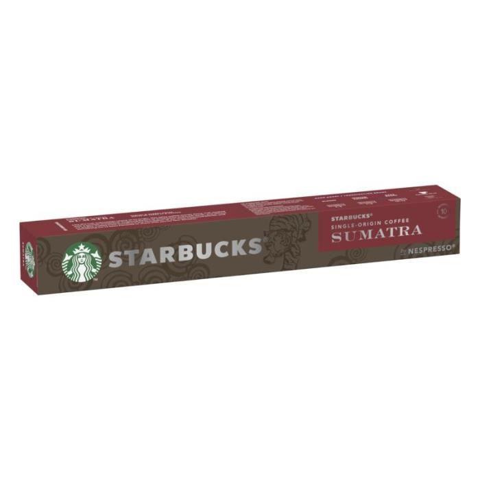 STRABUCKS Café Nespresso Sumatra - 10 capsules - 55 g