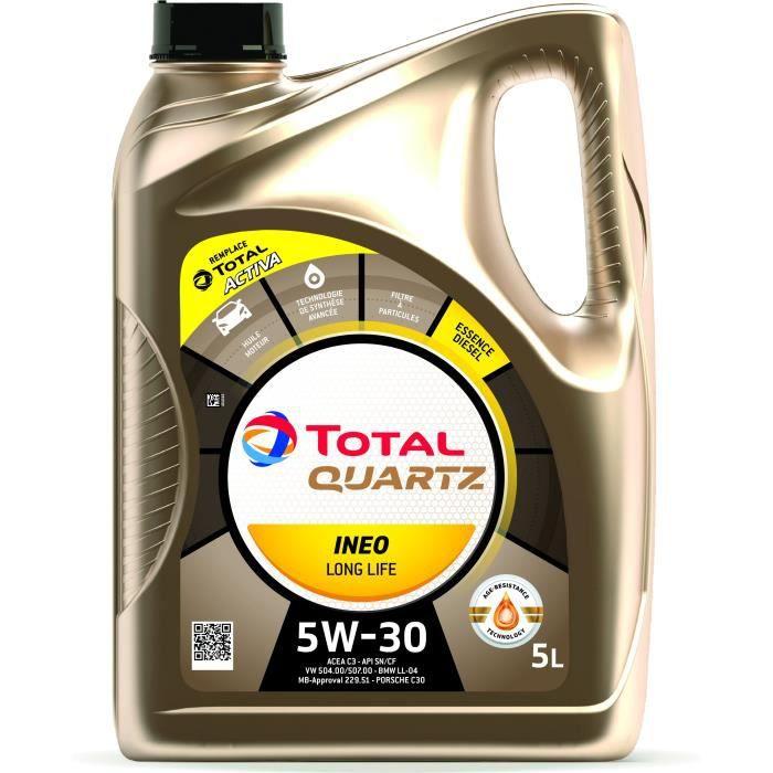 Huile Moteur Total Total 5W30 Quartz Ineo LL 5W30 5L