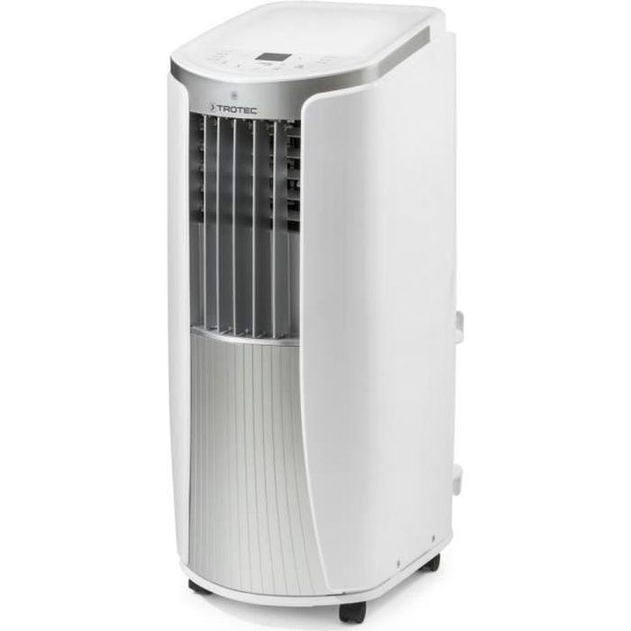 TROTEC Climatiseur mobile local PAC 2010 E avec 2.1 kW/climatiseur 7200 BTU (Classe énergétique A)