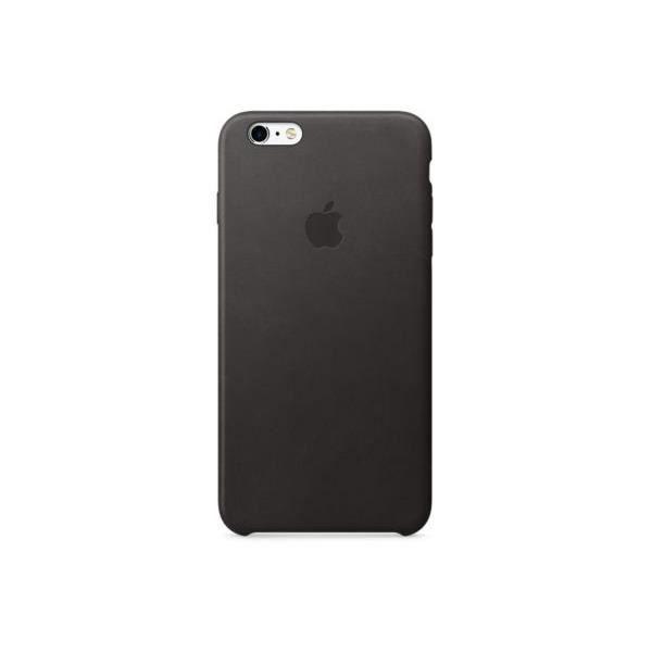 coque apple en cuir pour iphone 6s plus noir
