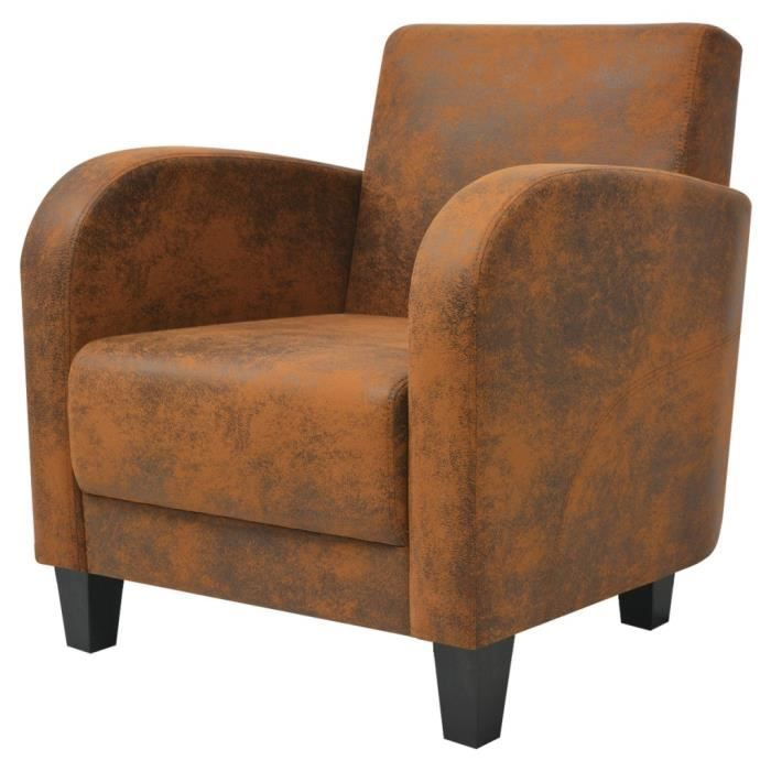 fauteuil club tissu achat vente fauteuil club tissu pas cher cdiscount. Black Bedroom Furniture Sets. Home Design Ideas