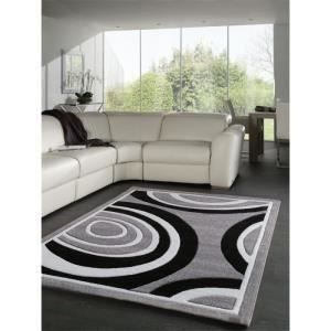 tapis moderne tendance design achat vente tapis cdiscount. Black Bedroom Furniture Sets. Home Design Ideas