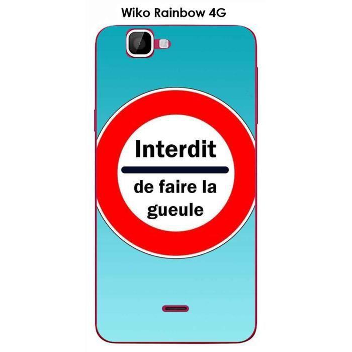 Coque wiko rainbow 4g