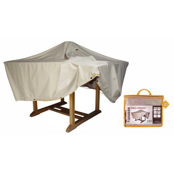 Housse de table de jardin 170 x 110 cm