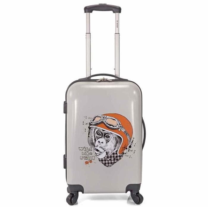 Photo de valise-cabine-4-roues-benzi-monkey-design