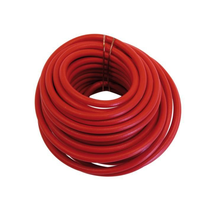 cable enceinte ampli audio 1 5mm2 rouge 5 m achat vente installation autoradio cable. Black Bedroom Furniture Sets. Home Design Ideas