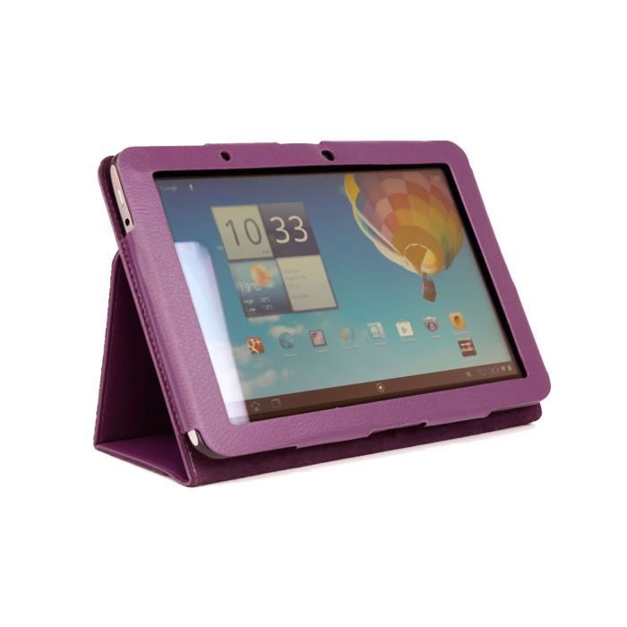 etui stand violet pour tablette acer iconia tab a510 prix pas cher cdiscount. Black Bedroom Furniture Sets. Home Design Ideas