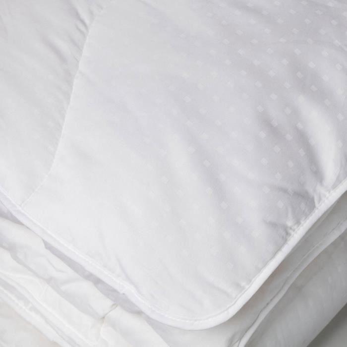 COUETTE Couette 450 g Sensation Duvet Blanc 200 x 200 cm