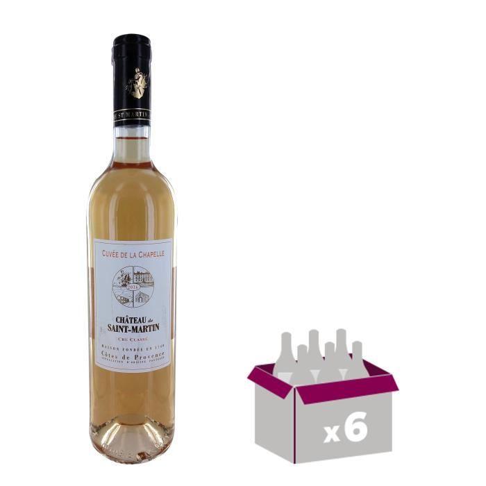 Château de Saint Martin 2016 Côtes de Provence -Vin rosé de Provence