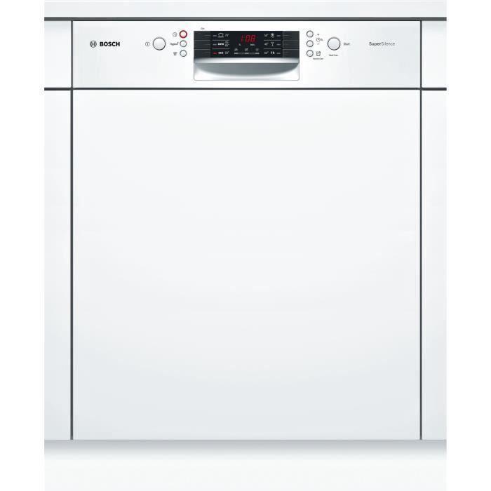 Lave-vaisselle encastrable BOSCH SMI46AW04E - 12 couverts - Largeur 60 cm - Moteur induction - 44dB