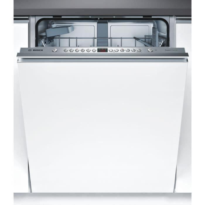 Lave-vaisselle encastrable BOSCH SMV46AX04E - 12 couverts - Moteur induction - Largeur 60 cm - Classe A++ - 44 dB