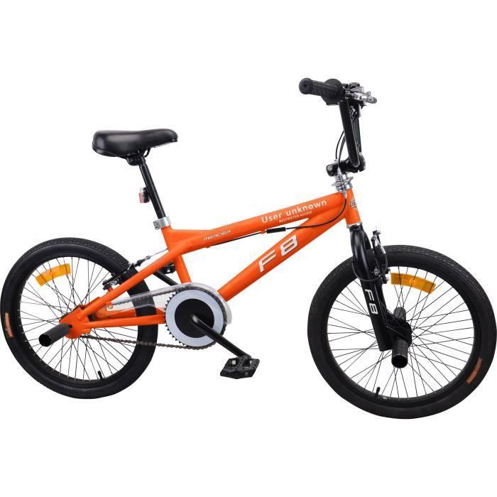 MERCIER Vélo BMX Freestyle 20- 4 Pegs roues rayons - Orange