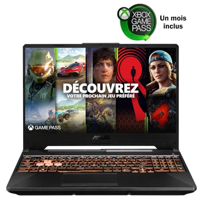 ASUS TUF Gaming FX505GT HN004T - Core i5 I5-9300H 2.4 GHz 8 Go RAM 512 Go SSD Noir