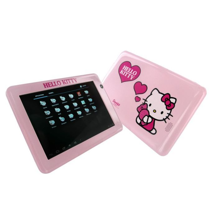 tablette tactile multimedia hello kitty achat vente tablette enfant cdiscount. Black Bedroom Furniture Sets. Home Design Ideas