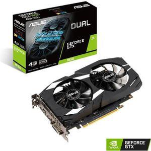 CARTE GRAPHIQUE INTERNE ASUS Carte graphique GeForce GTX 1650 4 Go DUAL (D